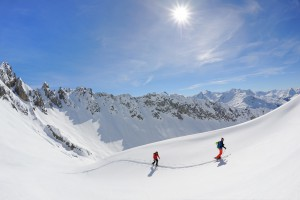 Ski tours in Lech Zürs