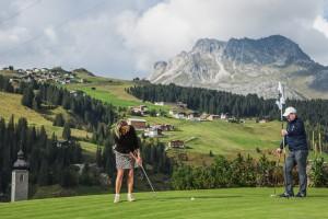 Golfen in Lech Zürs