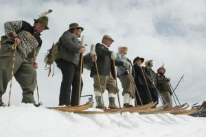 Nostalgia skiing